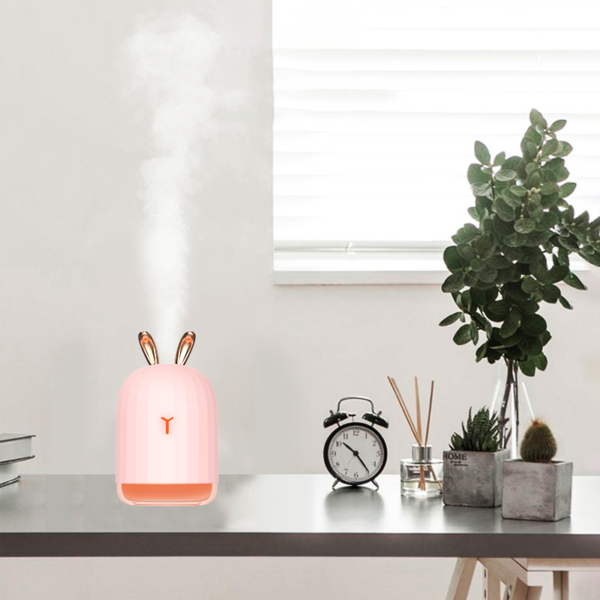 Shine boutique, humidificateur d'air kawaii, humidificateur d'air lapin, humidificateur d'air cerf