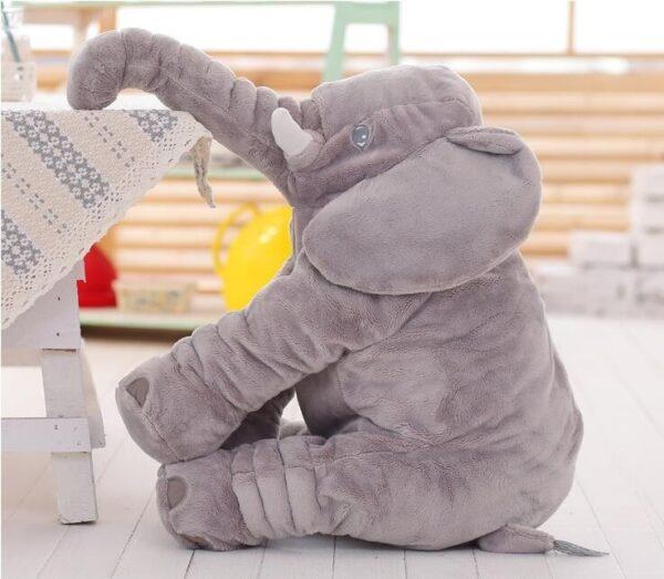 shine, coussin éléphant, peluche éléphant, doudou éléphant,