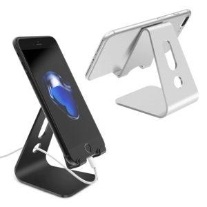 shine boutique, support mains libres tablette smartphone, support téléphone portable en acier inoxydable