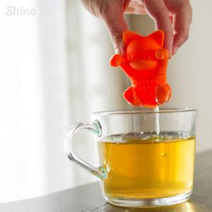 Shine boutique, Infuseur thé chat, Infuseur silicone, boule à thé chat