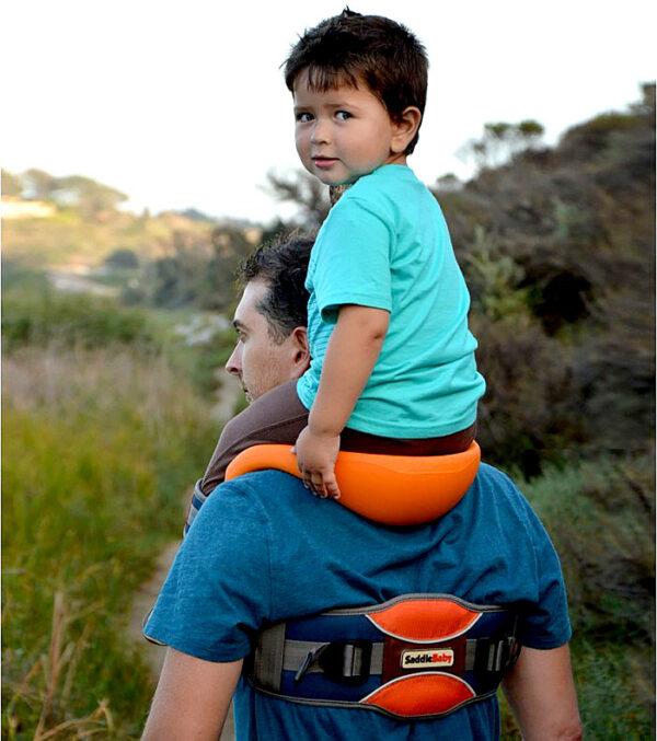 shine, Porte bébé Epaules, saddle Baby, porte bébé dorsal