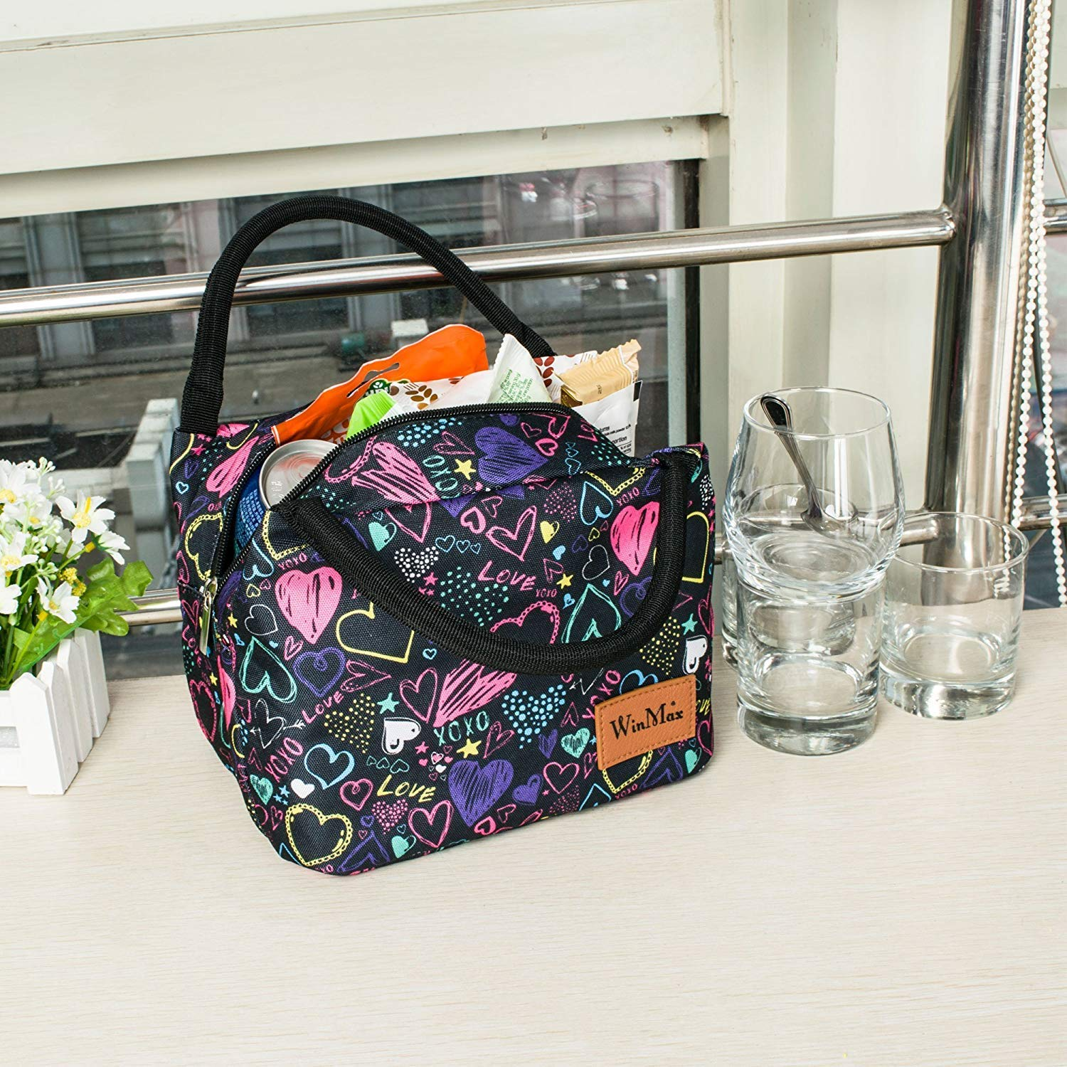Shine boutique, lunch bag girly, sac repas isotherme