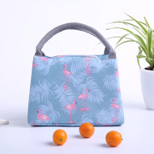Shine boutique, lunch bag flamingo, sac repas isotherme