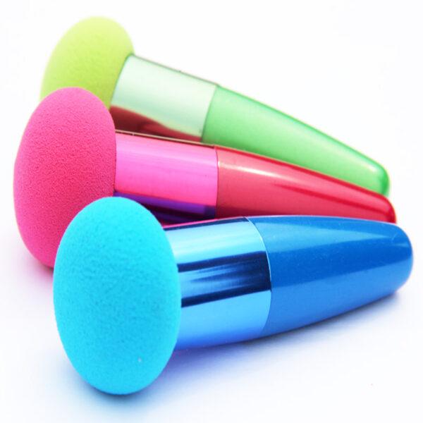 shineboutique, pinceau sucette éponge de maquillage, pinceau applicateur fond de teint ou correcteur, outil de maquillage