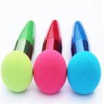 shine boutique, pinceau sucette éponge de maquillage, pinceau applicateur fond de teint ou correcteur, outil de maquillage