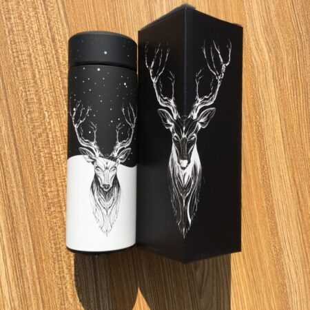 shine boutique, thermos cerf, bouteille isotherme cerf
