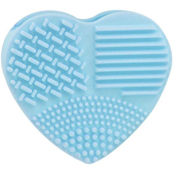 shineboutique, cœur nettoyant pinceaux de maquillage en silicone, gant silicone nettoyant pinceaux de maquillage