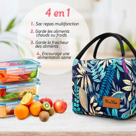lunch bag tropical