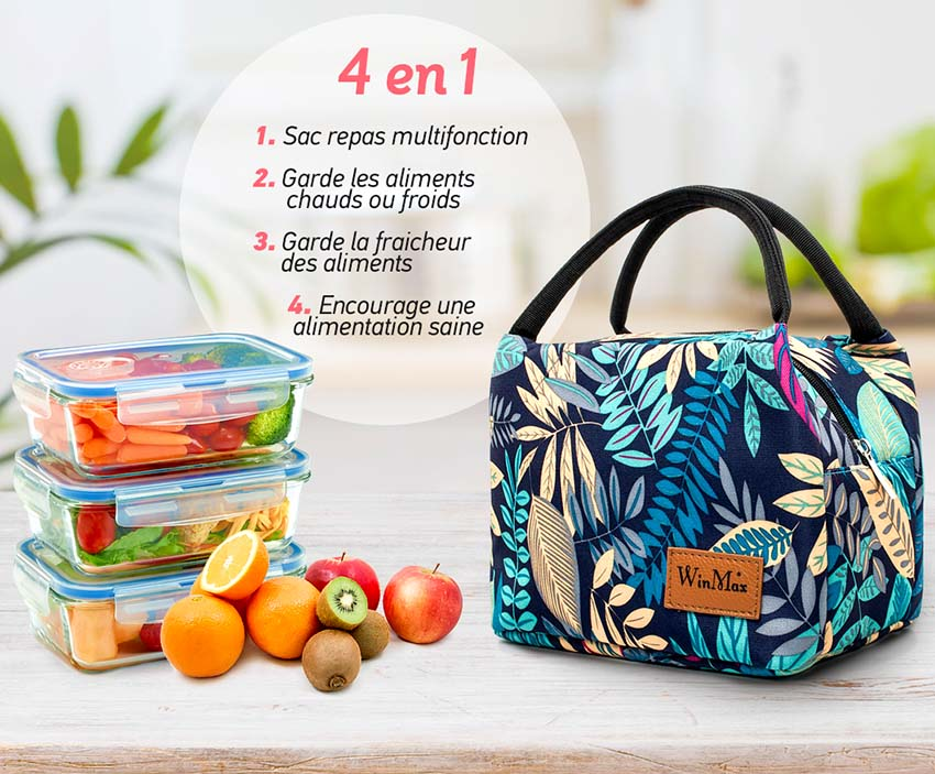sac repas tropical isotherme