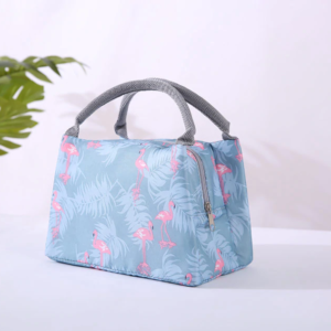 Shineboutique, lunch bag flamingo, sac repas isotherme