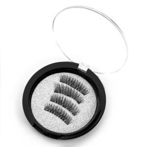 Kit faux cils noirs, réutilisable, aimants, extension, faux cils, cils aimantés, yeux de biches, cils naturels, beauté, mode, tendance des faux cils