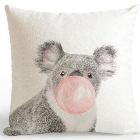 shineboutique, coussin koala bulle de gum