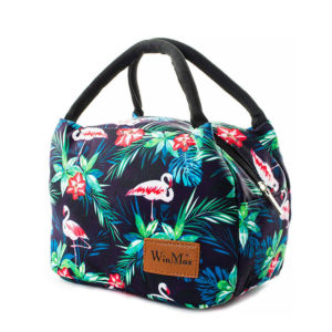 shineboutique, lunch bag flamant rose