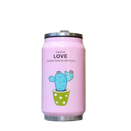 shine boutique , thermos canette cactus, bouteille isotherme cactus, gourde