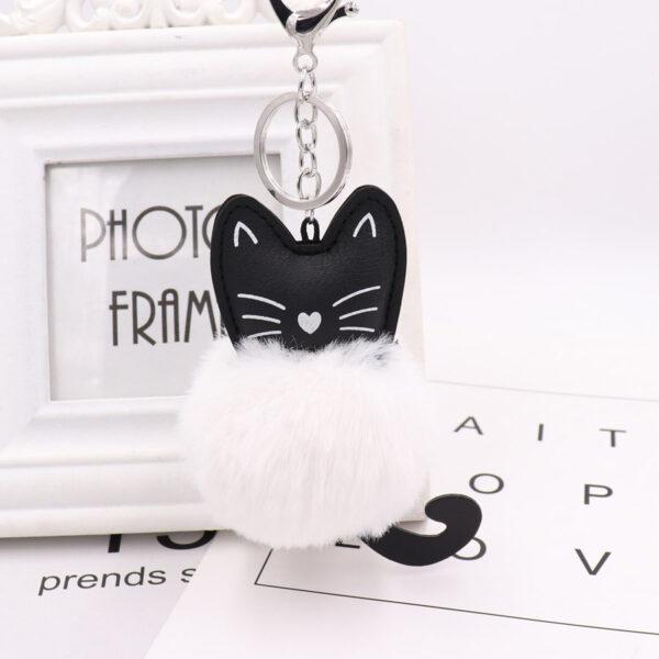 porte-clé chat, shine boutique