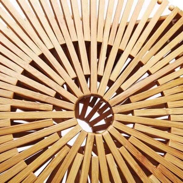 shineboutique, sac bandoulière bambou Tao, sac à main en bambou, sac en bois, sac vegan
