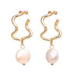 Shine boutique, boucles d'oreilles Selena, boucles d'oreilles perles