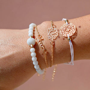 shine boutique, ensemble de bracelets Dalila, bracelet fantaisie