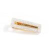 shine boutique, barrette pince blanche rectangle, barrettes acrylique