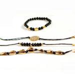 shine boutique, ensemble de bracelets anthéa, bracelets fantaisie