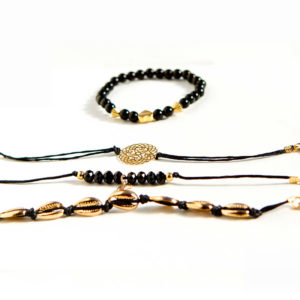 shine boutique, ensemble de bracelets anthéa, bracelets fantaisie