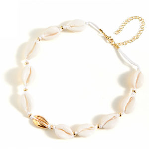 shine boutique, Collier Coquillage Ras de Cou Maui