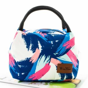 shine boutique, lunch bag gouache, sac repas isotherme
