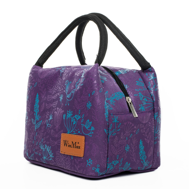 shine boutique, lunch bag champêtre, sac repas isotherme