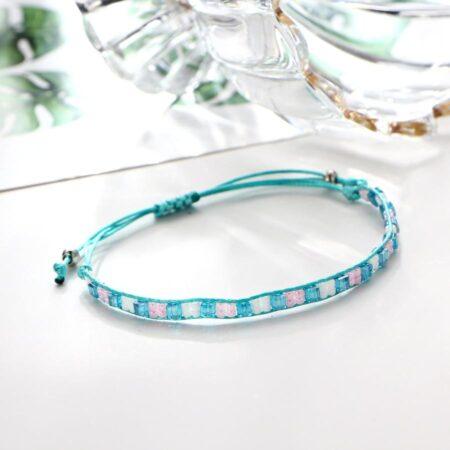 shine boutique, bracelet Maya, bracelet perles miuky, bracelet bohème chic, bracelet fantaisie