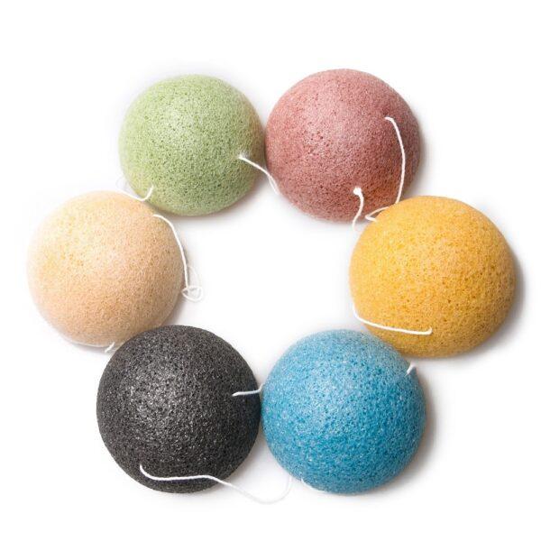 shineboutique, eponge Konjac, accessoire beauté, soin visage, éponge exfoliante, éponge vegan, éponge 100% naturelle, éponge bio,