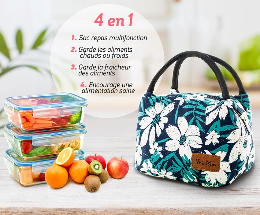 lunch bag sac repas isotherme