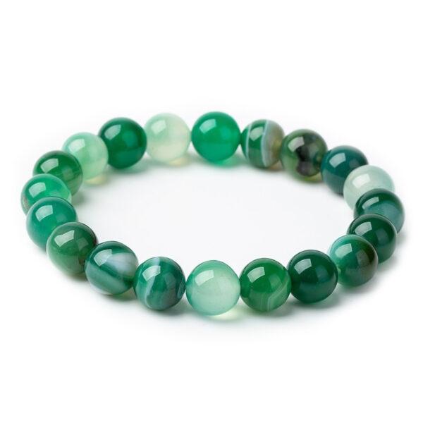 shine boutique, bracelet mala aventurine, bracelet spirituel, bracelet de méditation, bracelet en pierres précieuses
