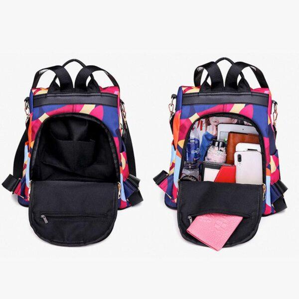 shineboutique, sac à dos oxford, sac à dos antivol, sac à dos de voyage