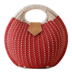 shine boutique, sac à main rotin poema, sac à main coquille, sac à main boule, sac à main rond en osier tressé en paille