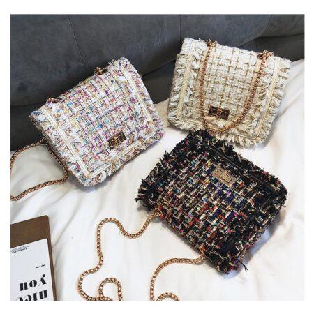 sac à main en tweed faustine 1