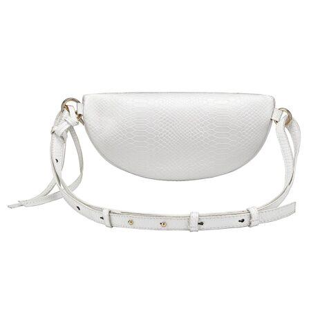 shine boutique, sac banane hannah, sac ceinture, belt bag, sac cuir python, sac bandoulière