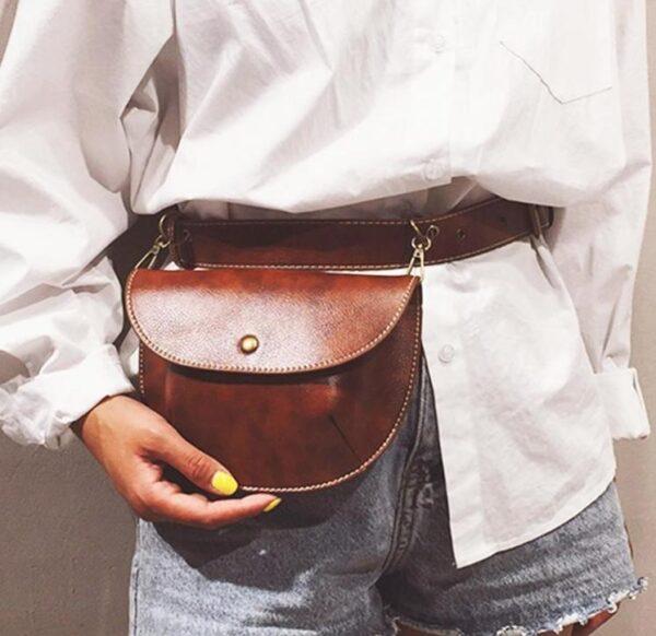 shineboutique, sac ceinture victoria, belt bag, sac banane, sac bandoulière cuir, sac vintage