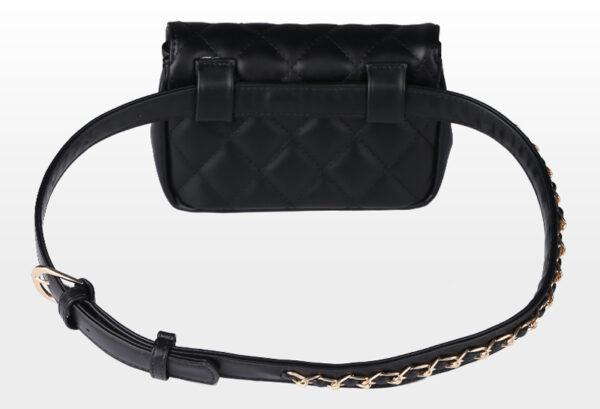 shineboutique, sac ceinture syana, sac banane cuir matelassé, clutch, sac bandoulière, sac à main