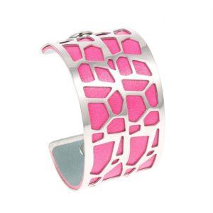 Shine boutique, bracelet manchette girafe large, bracelet personnalisable, bracelet unique, bracelet réversible et interchangeable, bracelet 3 en 1
