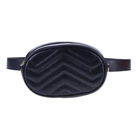 shine boutique, sac ceinture jane, sac banane cuir matelassé chevron, sac bandoulière, cutch, pochette