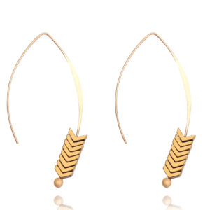 shine boutique, boucles d'oreilles aramis, boucle d'oreille flèche, boucles d'oreilles ethniques bohèmes