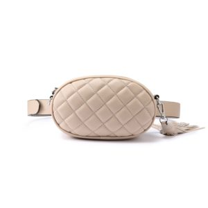 shine boutique, sac ceinture Tess, sac banane cuir matelassé, cutch, sac bandoulière
