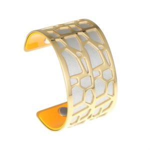 shine boutique, bracelet manchette girafe doré, manchette girafe dorée, bracelet réversible et interchangeable, bracelet personnalisable, bracelet 3 en 1