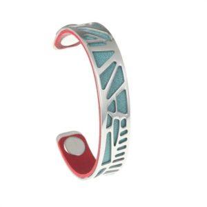 shine boutique, bracelet manchette palmier small, bracelet réversible et interchangeable, bracelet 3 en 1