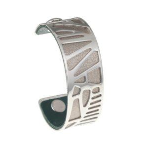 shine boutique, bracelet manchette palmier médium, bracelet réversible et interchangeable, bracelet 3 en 1