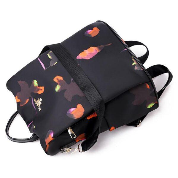 shineboutique, sac à dos flowers, sac à dos antivol, sac à dos de voyage