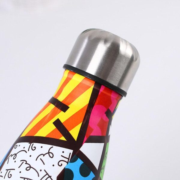 shineboutique, bouteille isotherme pop art, thermos