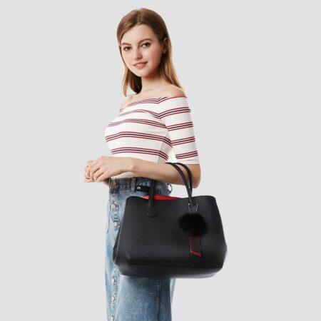 shine boutique, sac à main cabas cristina, sac à main, sac simili cuir, sac à main cuir synthétique