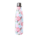 shineboutique, bouteille isotherme roses, thermos