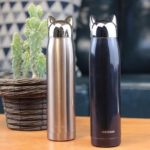 shine boutique, bouteille isotherme chat, thermos
